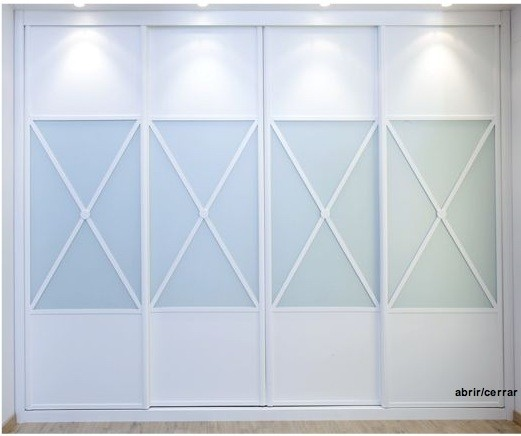 Frentes armarios empotrados armarios nogal for Precios de armarios empotrados