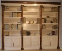 Librerías Armarios Nogal