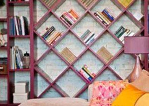 Librería en Madrid con Armarios Nogal
